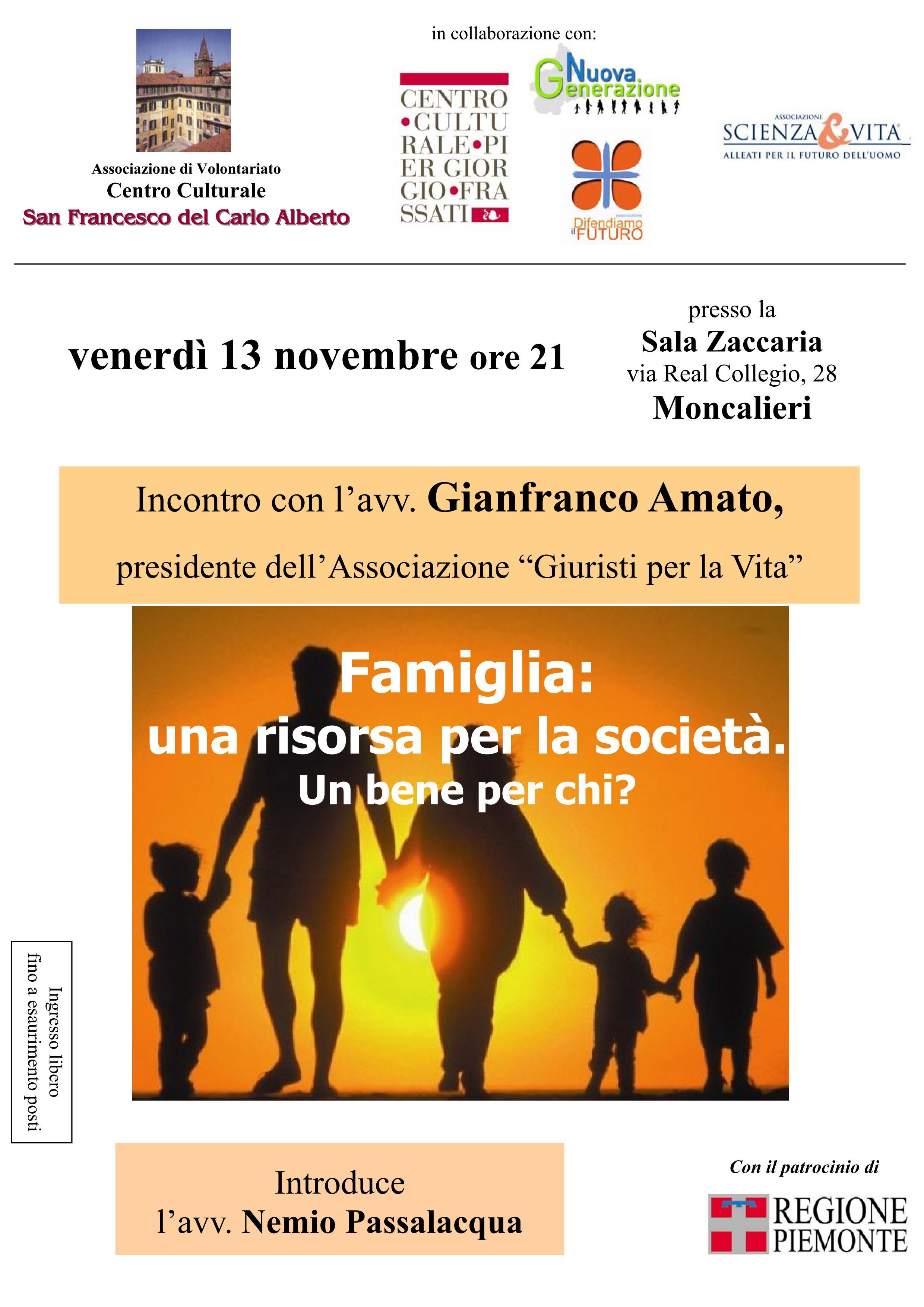 Incontro con Gianfranco Amato