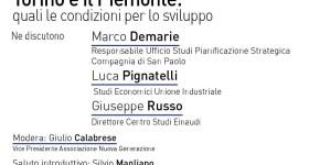 Locandina Torino Piemonte Sviluppo